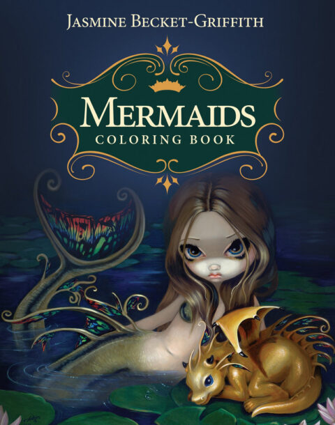 Mermaids Coloring Book